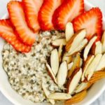 Strawberry Chia Pudding with Almonds