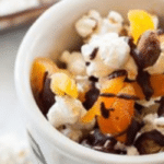 Chocolate And Pistachio Popcorn