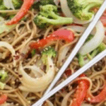 Lighter Sesame Noodles