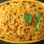Golden Coconut Brown Rice