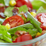 BLT Salad with Corn and Avocado
