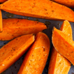 Homemade Sweet Potato Oven Fries