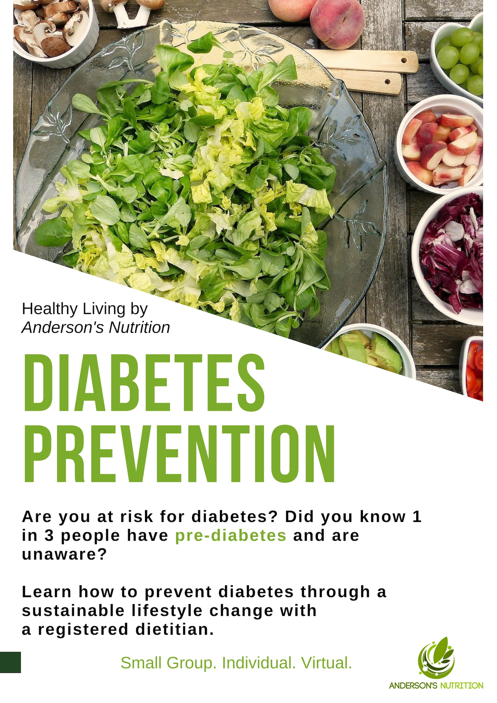 Diabetes Prevention Dietitian Diet
