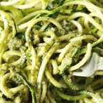 "Zucchini Walnut Pesto ""Noodles"""