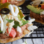 Chicken Tostadas – Dinner in 15 Minutes