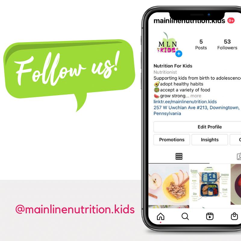 Nutrition for Kids Instagram